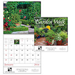 Garden Walks Spiral Wall Calendars